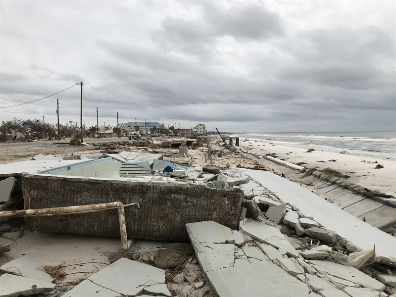 Storm-induced sea level spikes expected to increase on the Gulf and Atlantic coasts