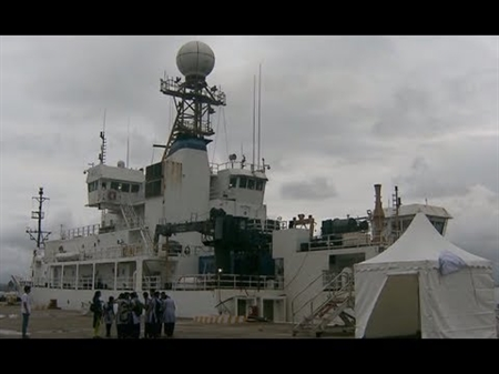 Video: NOAA Ship Ronald H. Brown visits Goa, India