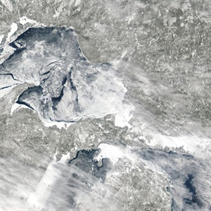 Ask NOAA experts about Great Lakes ice cover in a Tweet Chat on Wednesday, March 14